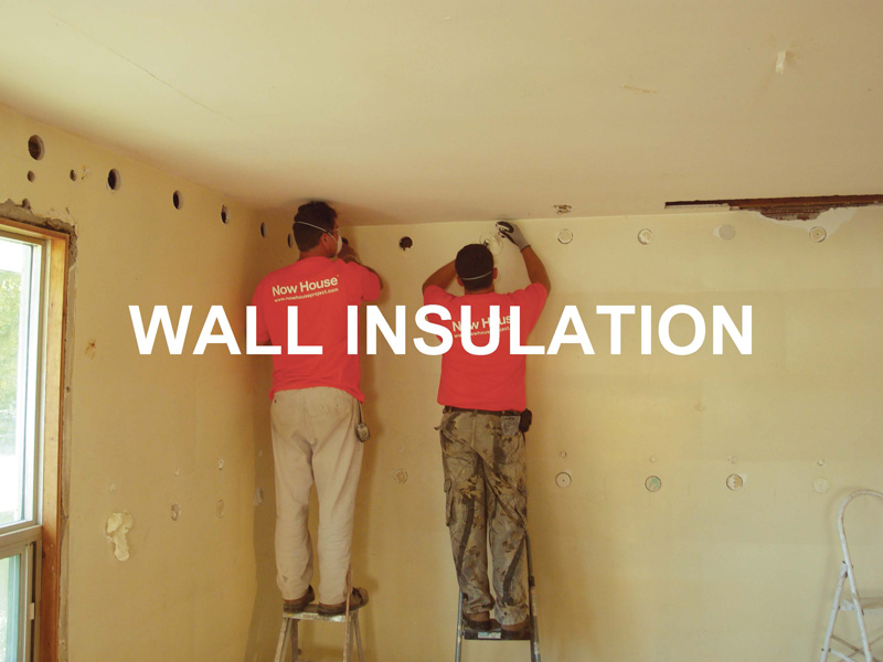 The retrofit upgrades to wartime houses now house - Retrofit exterior wall insulation ...